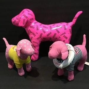 Victoria Secret PINK plush dogs